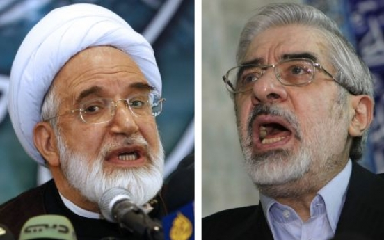 Iran opposition leaders arrested