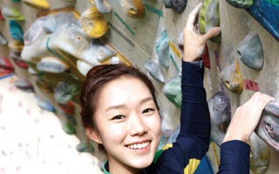 Superstar climber just a regular girl