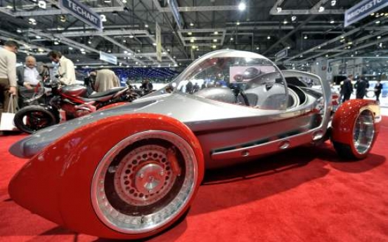 The Swiss new Sbarro Concept car TwoFort100