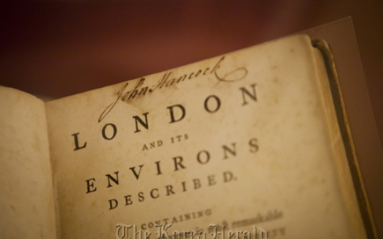 Rare book collection on display at Stanford