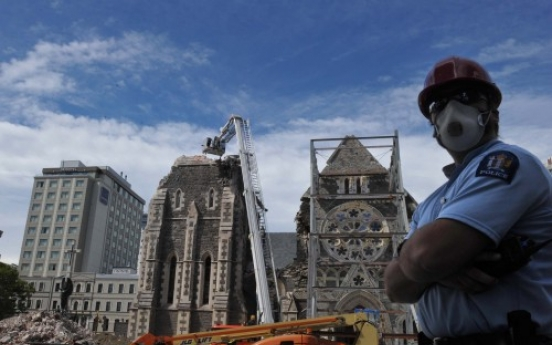 '10 years to rebuild Christchurch'