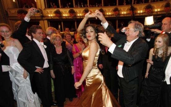 Ruby's presence shakes up staid Vienna Opera Ball