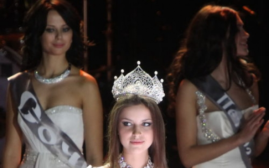 Natalia Gantimurova wins Miss Russia 2011 beauty pageant