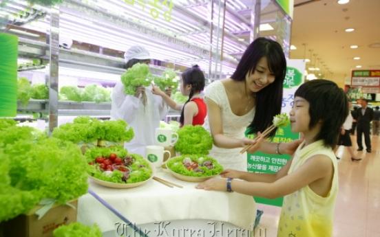 Korea seeks LED, vertical farming synergy