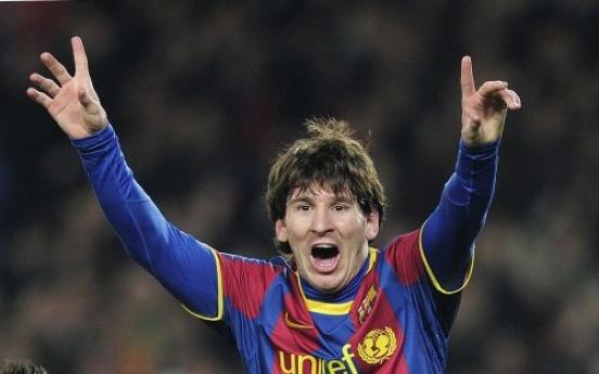 Messi, Barca maul Arsenal 3-1