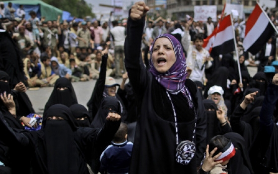 Yemen police fire on protests, 6 killed