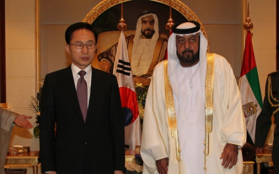 Korea wins major UAE oil deal