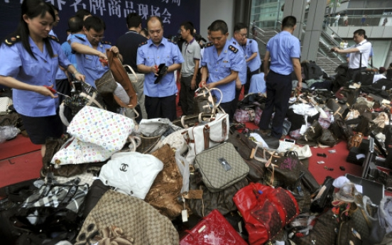 China arrests 3,001 for product piracy