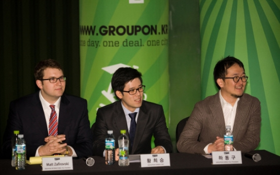 Groupon aims for slice of Korean social commerce market
