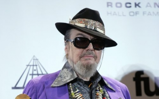 Dr. John inducted into Rock Hall of Fame