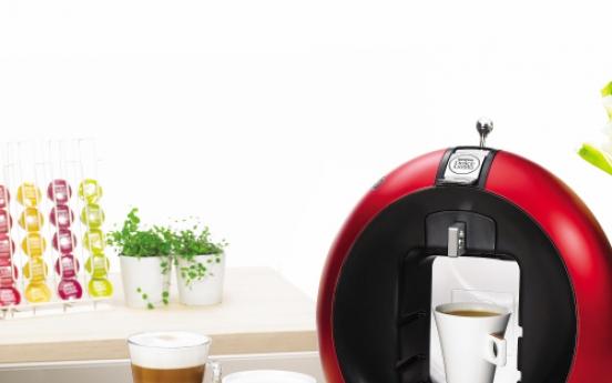 Coffee pods invade cafes