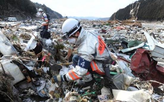 Japan denies news of 'eight-day survivor'