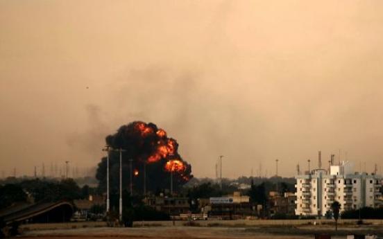 Plane shot down over rebel-held city in Libya