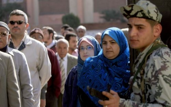 Egypt votes for first time in 50 years