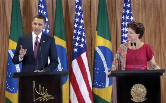 Obama links Brazil trip to U.S. job growth