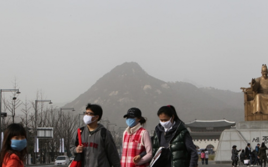 Yellow dust from China contains radioactive substance: institute