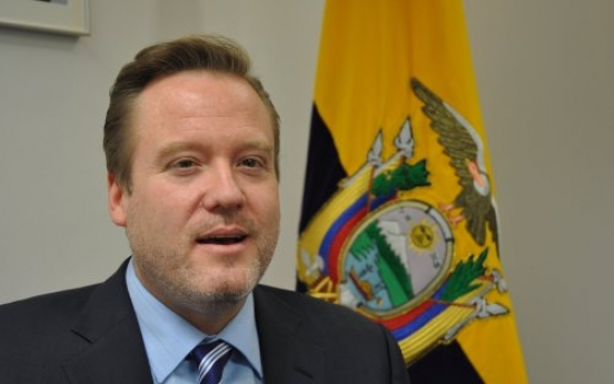 New envoy holds new vision for Ecuador