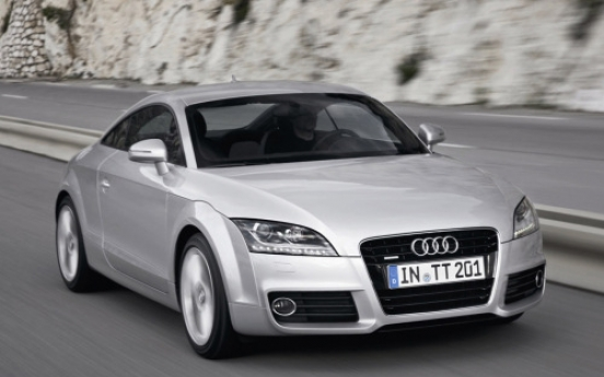 Audi introduces new Audi TT in S. Korea