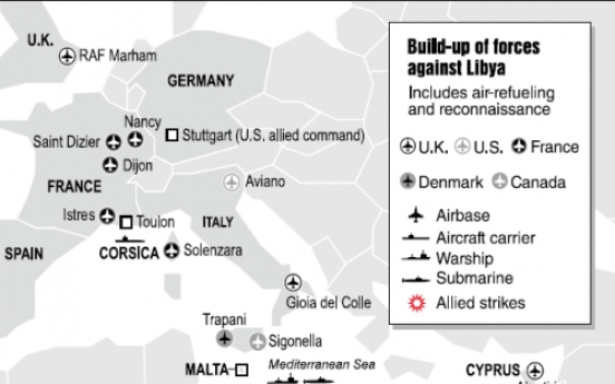 Libya bombing successful, endgame unclear