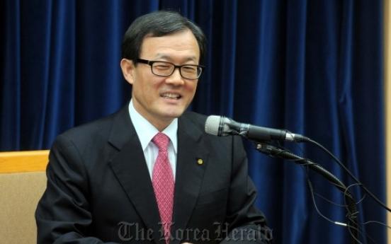 Woori Bank's No. 2 man tapped as new head