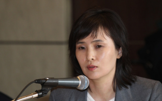 Shin hints ex-P.M. Chung courted her