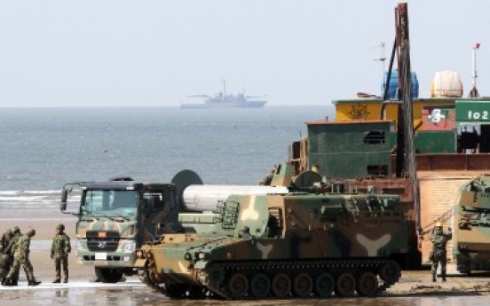 Allies conduct logistics exercise in West Sea