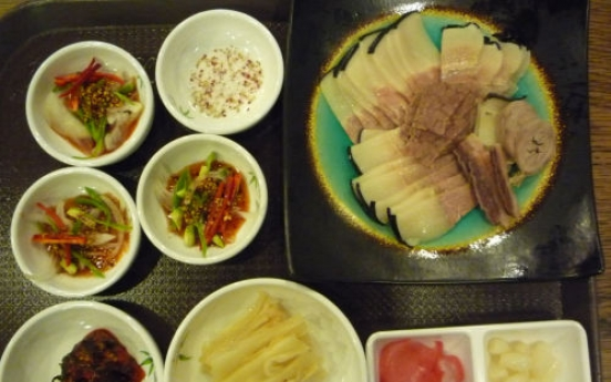 Whale meat growing in popularity in Busan