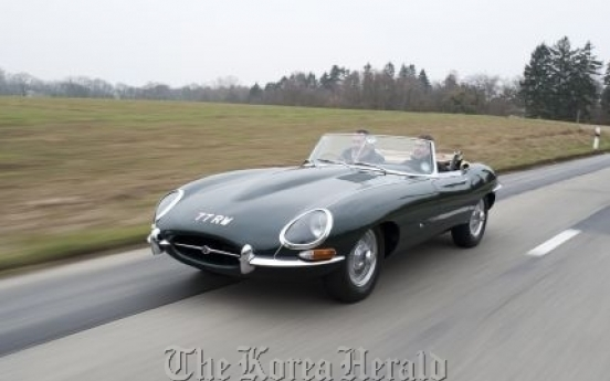 Jaguar gives special tributes to the legendary E-Type