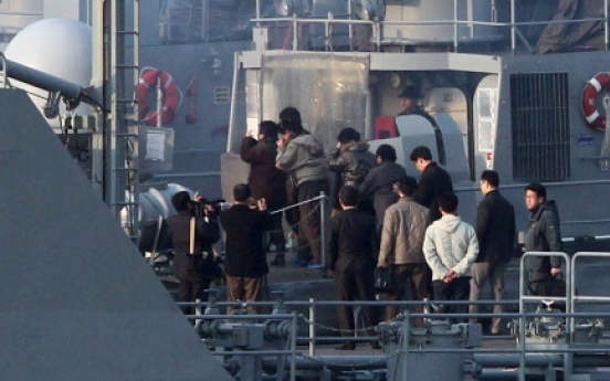 27 N. Koreans repatriated by sea