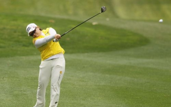 Shin Ji-yai holds lead at Kia Classic
