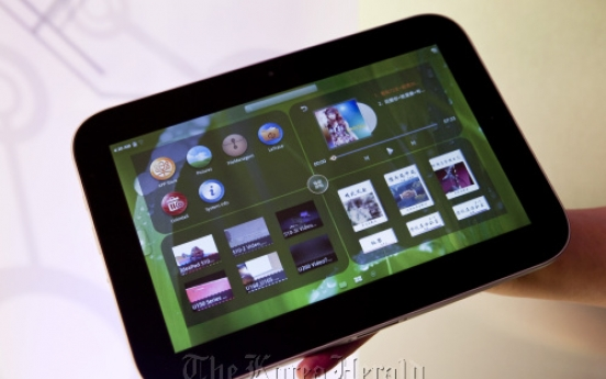Lenovo launches 'LePad' in China