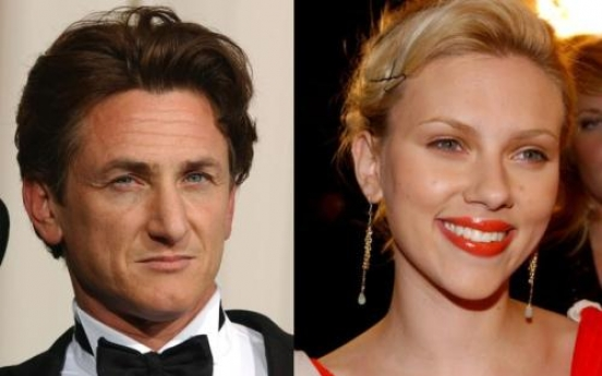 Scarlett Johansson and Sean Penn go public as a couple