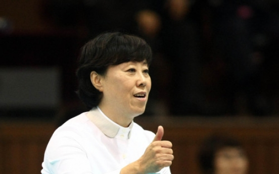 Korea's first female volleyball manager resigns