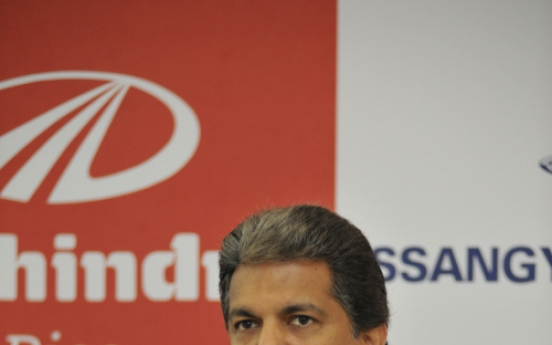 Mahindra says committed to long-term stake in Ssangyong