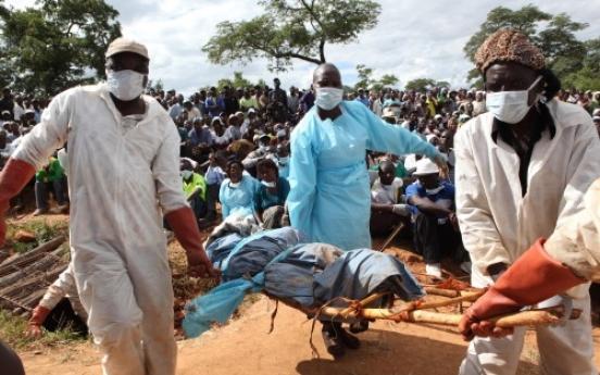 Zimbabwe mass grave becomes political propaganda