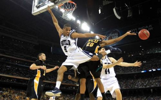 Butler storms into title game