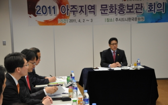 Korean cultural centers need to identify local demand: minister