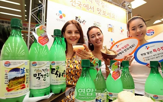 S. Korea's rice wine output falls amid slowing demand