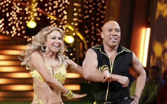 Hines appears in the 'Dancing with the Stars' program