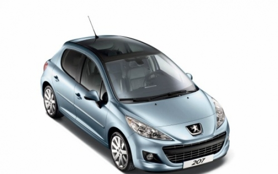 Limited-time offer on Peugeot 207GT