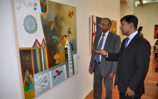 Lighting up the room with vivid art from Bangladesh