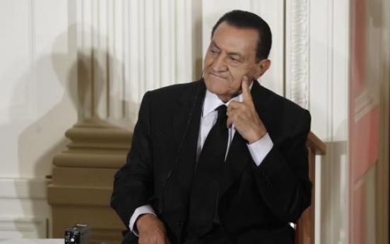 Egypt's former leader denies abuse of power