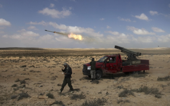 Libyan rebels reject African cease-fire plan