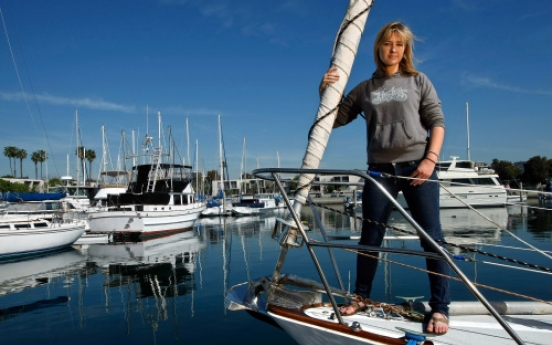 Abby Sunderland revisits her around-the-world sailing adventure in book, documentary