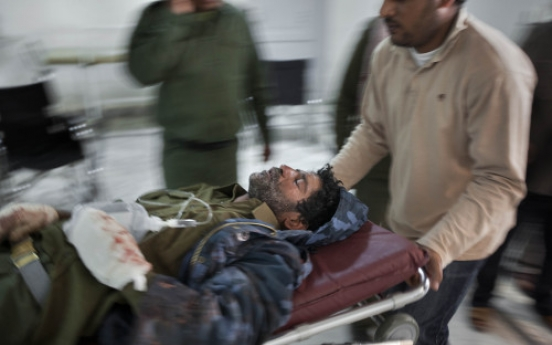 More shelling in rebel-held city in Libya