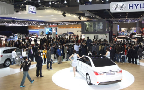 S. Korean automakers to unveil models at Shanghai motor show