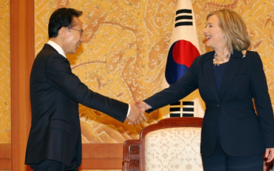 Korea, U.S. agree to make best efforts for early ratification of free trade pact