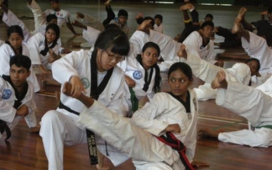 Taekwondo Peace Corps eyes new volunteers