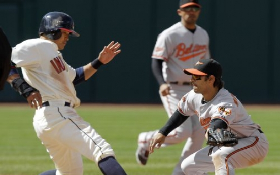 Sizemore homers as Tribe sweep