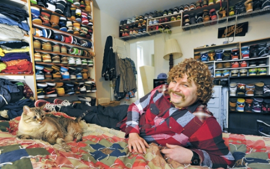 If the shoe fits: Avid sneaker fans prove collecting shoes is not just a woman's game